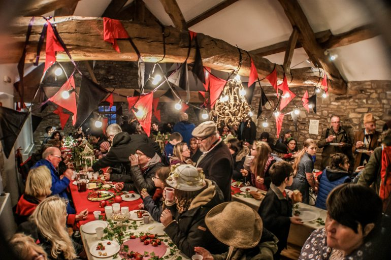 Feast at Timber Festival