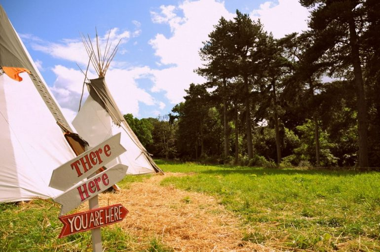 Boutique Camping at Timber Festival