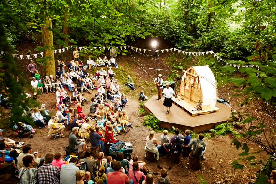 Provocation at Timber Festival